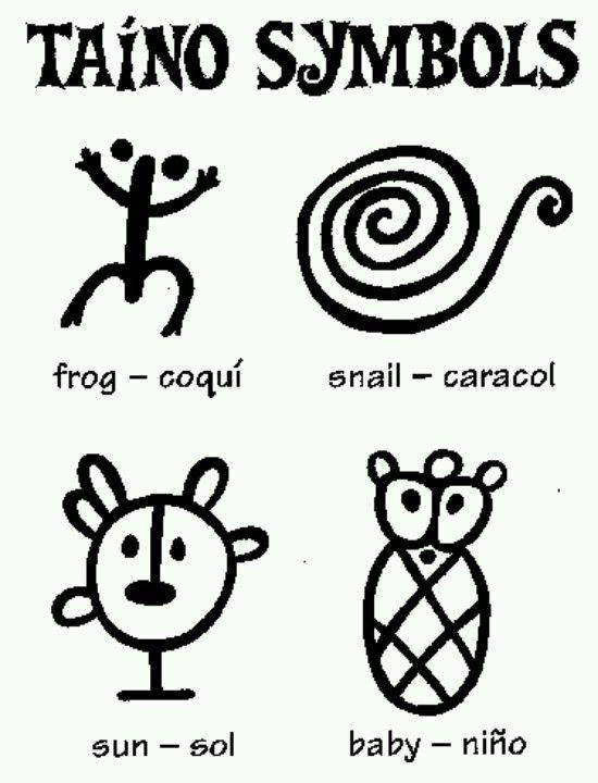 Taino Symbols | For My Bambina | Pinterest