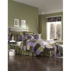 Purple and green bedroom ideas for Green and purple bedroom designs