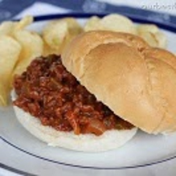 Delish Sloppy Joes. The ones Martha Stewart wouldn't eat -- shame on ...