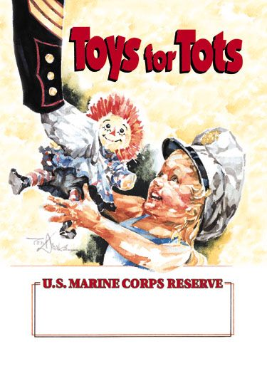 Toys 4 Tots Posters : Toys for tots promo poster raggedy ann andy