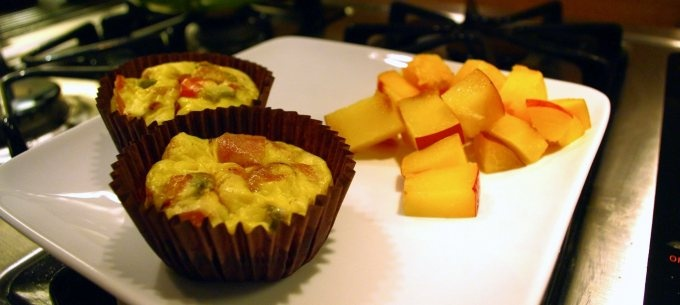 Prosciutto-Wrapped Mini Frittata Muffins Recipe — Dishmaps