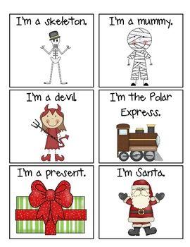 Hedbanz Holiday Vocab!