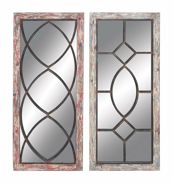 Wall Decor Mirror Sets : Piece mirror wall d?cor set