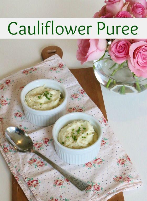 Cauliflower Puree | Food Glorious Food | Pinterest