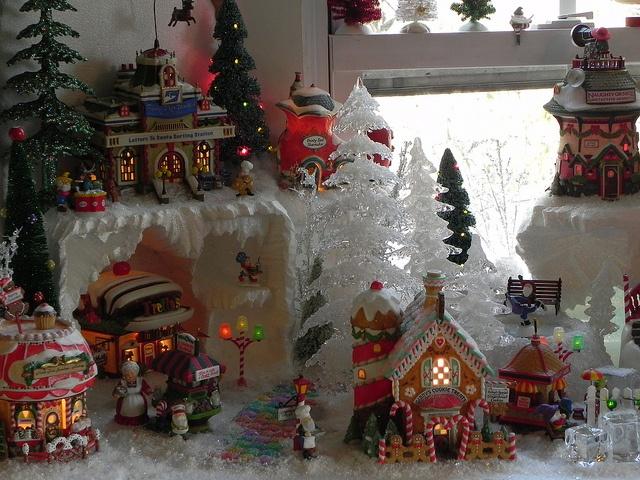 North Pole Ideas North Pole Village Scene