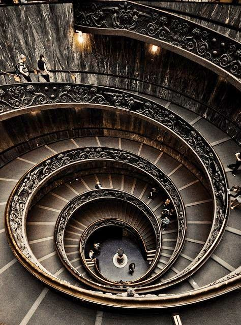 Spiral staircase vatican museum architecture ben for Architecture spiral staircase
