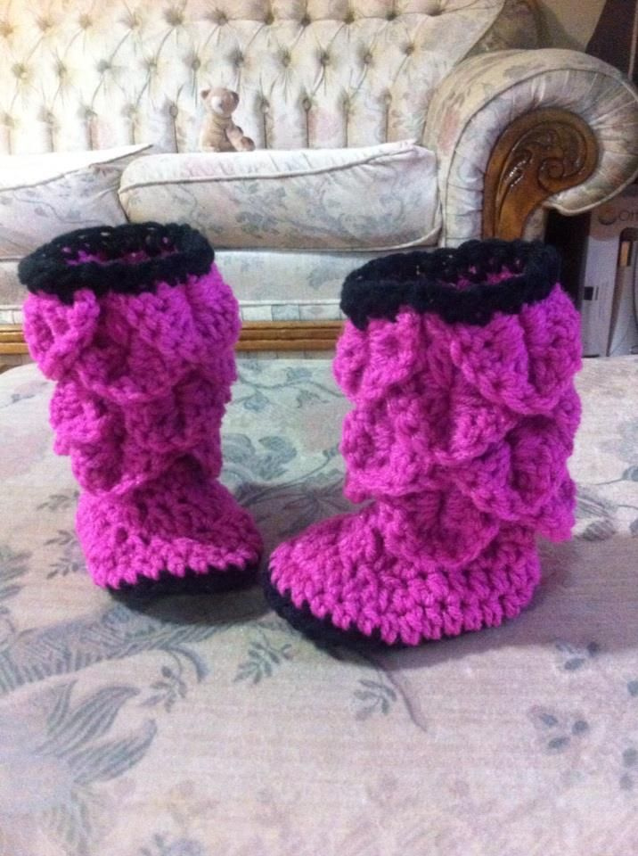 Free Crochet Pattern For Crocodile Stitch Boots : Pin by Suzanne Brewer on crafts Pinterest