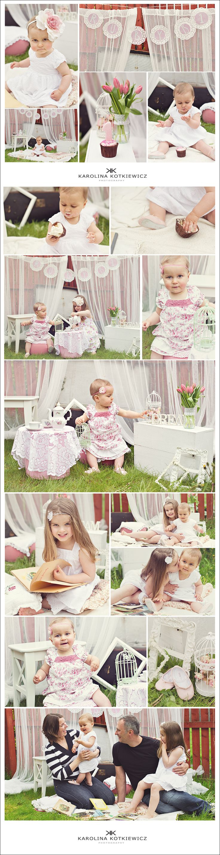 1st birthday baby photo session, children ideas, birthday party ideas ...