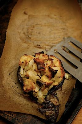 Portobello Mushrooms with Parmesan-Herb Stuffing | Big Girls Small ...