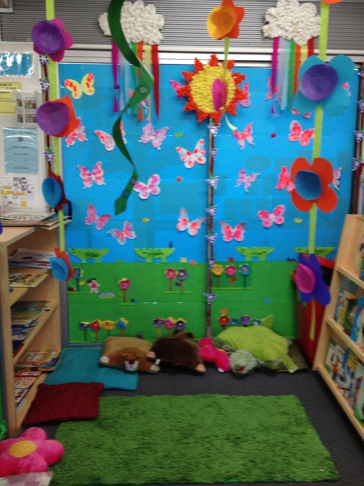 The reading garden lou classroom pinterest for Garden design a book of ideas