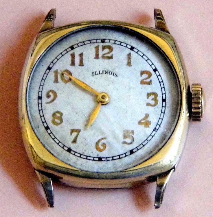 Vintage mens wadsworth wristwatch