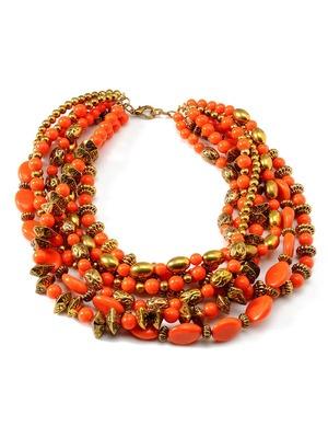 Amrita Singh Multi-Strand Bead Necklace