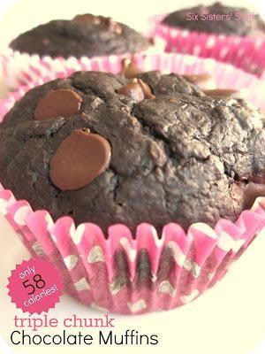 ... .com - Recipe - Low Calorie Triple Chocolate Chunk Muffins Recipe