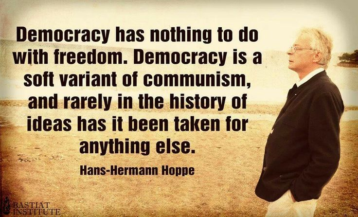 Image result for hans hermann hoppe quotes