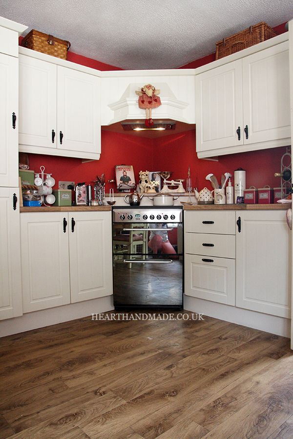 red and cream kitchen ideas for my home pinterest