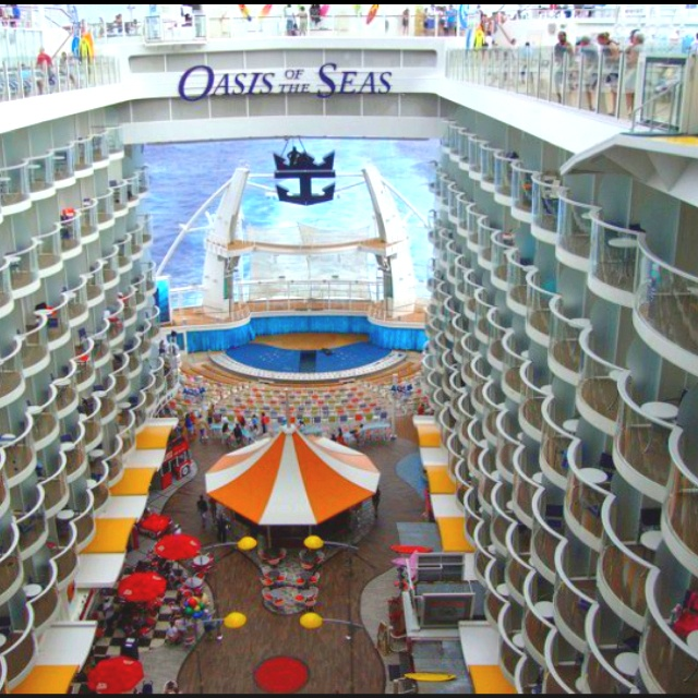 Oasis of the seas oasis of the seas pinterest for Cruise ship balcony view