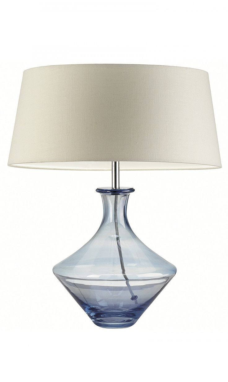 Pin By Instyle Decor Hollywood On Blue Table Lamps Pinterest