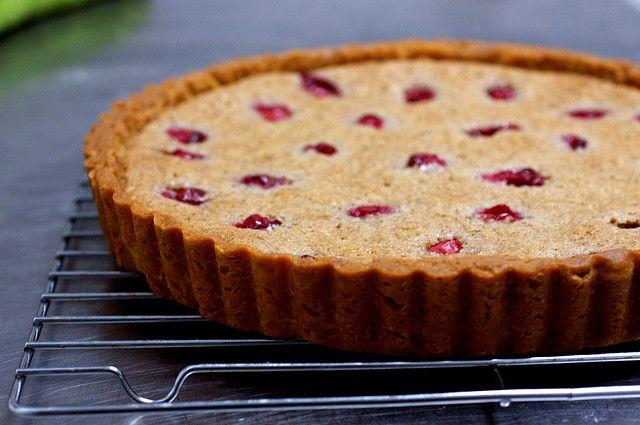 cranberry pecan frangipane tart | cook this | Pinterest
