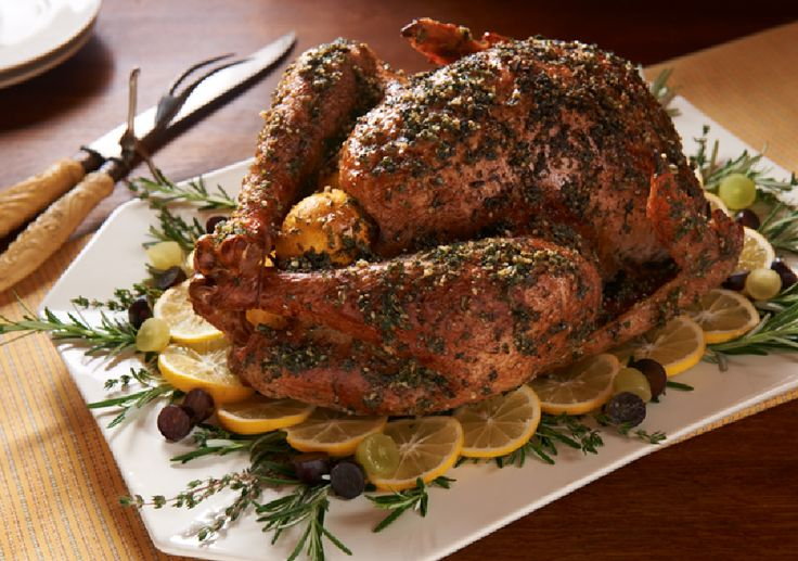 Savory Holiday Turkey Rub with Dandy Meyer Lemon, Fresh Herbs and ...