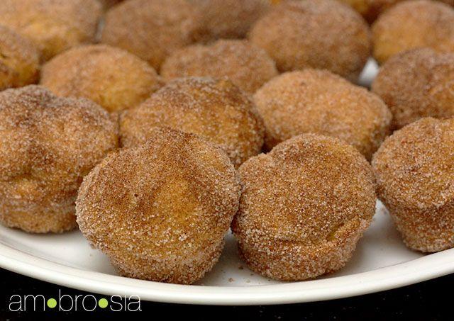 Pumpkin Donut Muffins!   Pumpkin Madness!   Pinterest