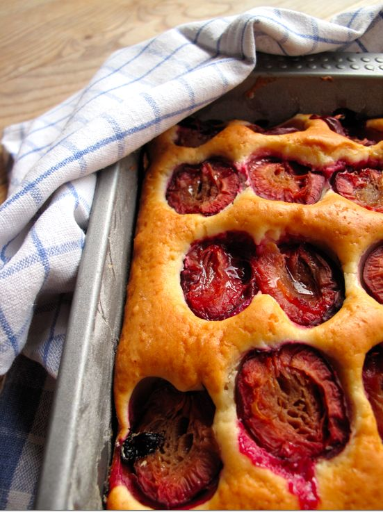 Dimply Plum Cake | foodie delights | Pinterest