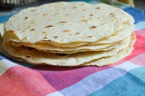 Homemade Flour Tortillas   Mexican/Spanish   Pinterest