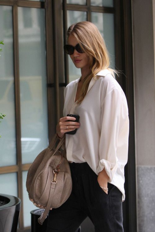 white shirt-- chic and versatile #fashion