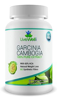 Livewell Garcinia Cambogia-Helps curb appetite*Helps block the