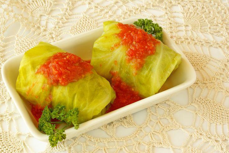 Vegetarian cabbage rolls | iVenus.ca Recipes | Pinterest