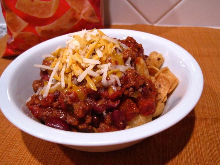 Fritos Chili Pie! Yes! | yummy in tummy | Pinterest