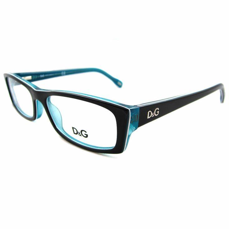 d g glasses frames 1212 black turquoise 52mm dolce gabbana