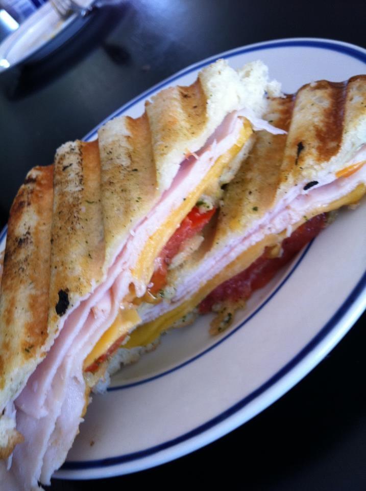 panini leftover turkey and swiss panini turkey swiss and bacon panini ...