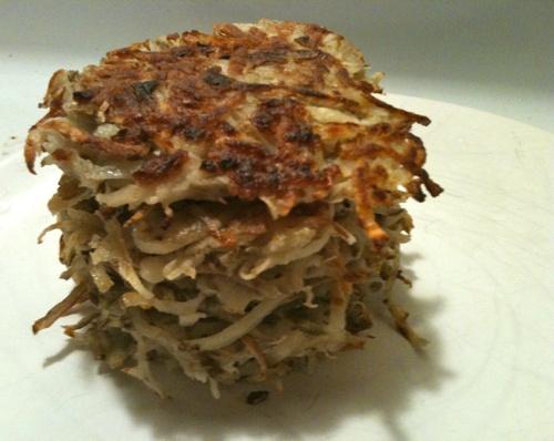 Root Vegetable Pancake Recipe