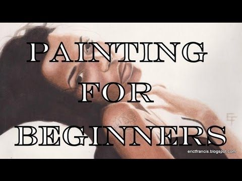 Acrylic Landscape Painting Techniques Lessons For Beginners Part 2015 ...