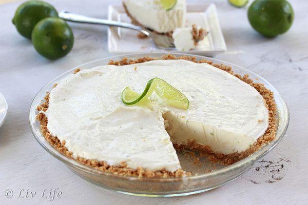 Frozen Margarita Lime Pie | Baking | Pinterest