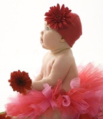 valentine's day baby hats