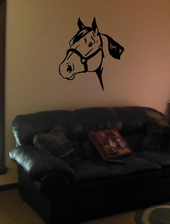 Horse Wall Decal Home Decor Western Native American Cowboy