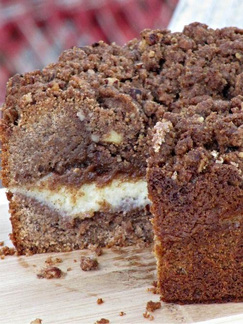 Cinnamon Cream Cheese Coffee Cake | coffee cake | Pinterest