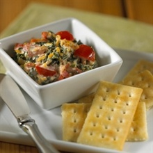 Spinach, Bacon & Cheddar Spread | Appetizers & Snacks | Pinterest