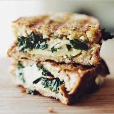 Sauteed Chard Gruyere Grilled Cheese (via www.foodily.com/r/koKrV8e1c ...