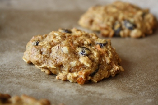 ... Oat Cookies made with Carrots, Nuts, Applesauce, and Maple Syrup