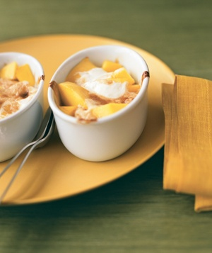 gratin Ingredients 1 large ripe mango grated zest and juice of 1 lime ...