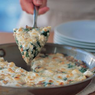 Herbed Spinach Frittata with Feta from Williams-Sonoma