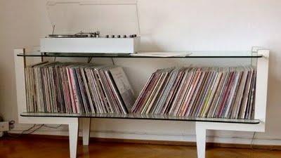 Mueble para vinilos discos pinterest for Vinilos para muebles