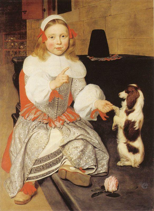 Ludolf de Jongh, Boy Training his Dog 1661 - Virginia Museum of Fine Arts, Richmond, The Arthur and Margaret Glasgow Fund