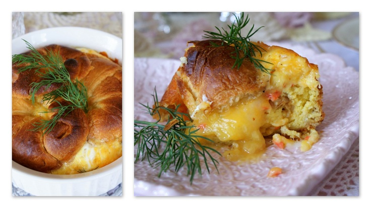 Smoked Salmon And Bagel Breakfast Casserole Recipes — Dishmaps