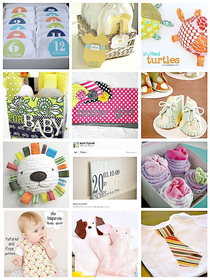 diy baby shower gifts monthly onesies baby to go bags stuffed