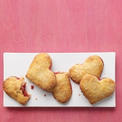 Pear-Raspberry Heart Pies. I made these as personal pies they were ...