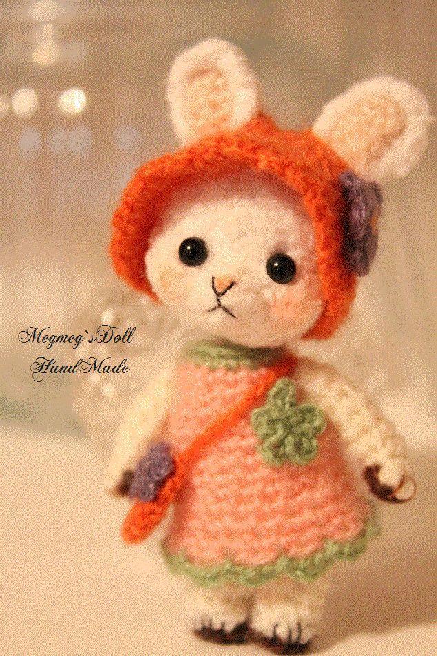 amigurumi pagina japonesa. SO CUTE!!. Knit/Crocheted ...