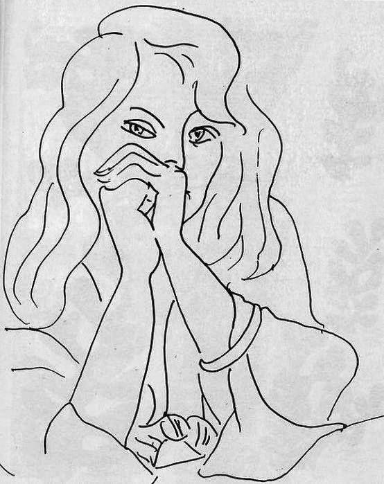 Matisse Contour Line Drawing : Henri matisse drawings imgkid the image kid
